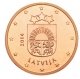 Latvia 2 Cent Coin 2014 - © Michail