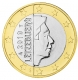 Luxembourg 1 euro coin 2010 - © Michail