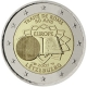 Luxembourg 2 Euro Coin - 50 Years Treaty of Rome 2007 - © European Central Bank
