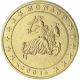 Monaco 50 Cent Coin 2001 - © European-Central-Bank