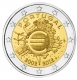 Portugal 2 Euro Coin - 10 Years of Euro Cash 2012 - © Michail