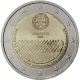 Portugal 2 Euro Coin - 60 Years Human Rights 2008 - © European Central Bank