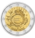 Slovakia 2 Euro Coin - 10 Years of Euro Cash 2012 - © Michail