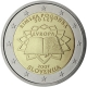Slovenia 2 Euro Coin - 50 Years Treaty of Rome 2007 - © European Central Bank