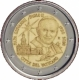 Vatican 2 Euro Coin - 100th Anniversary of the Birth of Pope John Paul II 2020 - © European Union 1998–2020