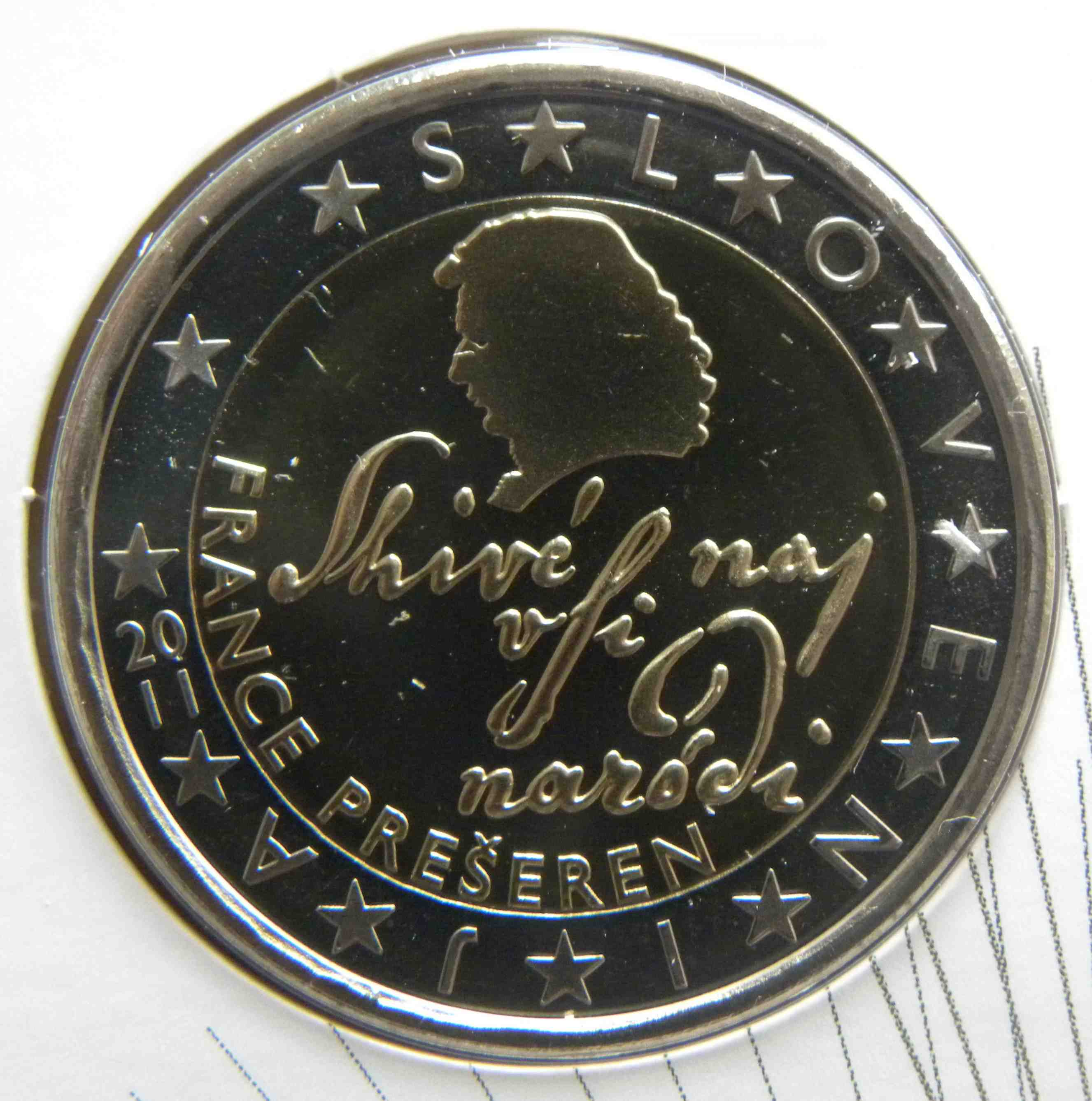 slovenia 2 euro coin 2011 euro the online eurocoins catalogue. Black Bedroom Furniture Sets. Home Design Ideas