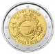 Cyprus 2 Euro Coin - 10 Years of Euro Cash 2012 - © Michail