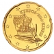 Cyprus 20 Cent Coin 2014 - © Michail
