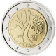 Estonia 2 Euro Coin - Estonia's Road to Independence 2017 - © European Central Bank