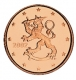 Finland 1 Cent Coin 2002 - © Michail