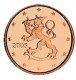 Finland 1 Cent Coin 2005 - © Michail