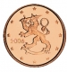Finland 1 Cent Coin 2006 - © Michail