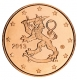 Finland 5 Cent Coin 2013 - © Michail