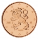Finland 5 cent coin 2011 - © Michail
