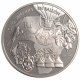 France 1 1/2 (1,50) Euro silver coin 100. anniversary of the death of Jules Verne - 5 Weeks in a Balloon 2006 - © NumisCorner.com