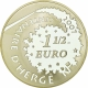France 1 1/2 (1,50) Euro silver coin 100. birthday of Hergé - Tintin - Tim and Professor Calculus 2007 - © NumisCorner.com