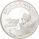 France 1 1/2 (1,50) Euro silver coin 75. Anniversary of the first transatlantic flight of Charles Lindbergh 2002 - © NumisCorner.com