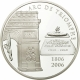 France 1 1/2 (1,50) Euro silver coin Major Structures in France - Triumphal arch 2006 - © NumisCorner.com