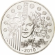 France 10 Euro Silver Coin - Europa Series - 1100th Anniversary of the Abbey of Cluny 2010 - © NumisCorner.com