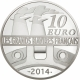 France 10 Euro Silver Coin - Great French Ships - The Normandy 2014 - © NumisCorner.com