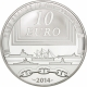 France 10 Euro Silver Coin - Great French Ships - The Redoutable 2014 - © NumisCorner.com