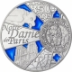 France 10 Euro Silver Coin - UNESCO World Heritage - 850th Anniversary of the Cathedral Notre-Dame de Paris 2013 - © NumisCorner.com