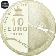 France 10 Euro Silver Coin - UNESCO World Heritage Site - Banks of the Seine - Louvre - Pont des Arts 2018 - © NumisCorner.com
