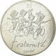 France 10 Euro Silver Coin - Values ​​of the Republic - Fraternity - Spring 2014 - © NumisCorner.com