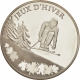 France 10 Euro silver coin XXI. Olympic Winter Games 2010 in Vancouver - Alpine Skiing 2009 - © NumisCorner.com