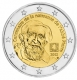 France 2 Euro Coin - 100th Anniversary of the Birth of Abbe Pierre 2012 - © Michail