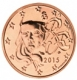 France 5 Cent Coin 2015 - © Michail