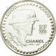 France 5 Euro silver coin 125. birthday of Coco Chanel 2008 - © NumisCorner.com