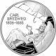 Germany 10 Euro silver coin 200. birthday of Carl Spitzweg 2008 - Brilliant Uncirculated - © Zafira