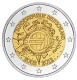 Germany 2 Euro Coin - 10 Years of Euro Cash 2012 - A - Berlin - © Michail