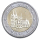 Germany 2 Euro Coin 2011 - North Rhine Westphalia - Cologne Cathedral - F - Stuttgart - © bund-spezial