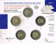 Germany 2 Euro Coins Set 2010 - Bremen - City Hall and Roland - Brilliant Uncirculated - © Zafira
