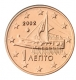 Greece 1 Cent Coin 2002 - © Michail
