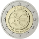 Ireland 2 Euro Coin - 10 Years Euro - WWU - AEA 2009 - © European Central Bank
