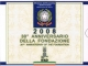 Italy Euro Coinset 2008 Proof with 5 Euro silver coin - © Zafira