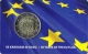 Latvia 2 Euro Coin - 30 Years of the EU Flag 2015 Coincard - © Zafira