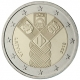 Latvia 2 Euro Coin - Common Issue of the Baltic States - 100 Years of Independence 2018 - © European Central Bank