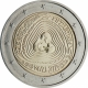Lithuania 2 Euro Coin - Sutartines - Lithuanian Multipart Songs 2019 - Coincard - © European Central Bank