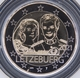 Luxembourg 2 Euro Coin - 40th Wedding Anniversary of Grand Duchess Maria Teresa With Grand Duke Henry 2021 - mintmark Servaas Bridge - © eurocollection.co.uk