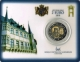 Luxembourg 2 Euro Coin - Coat of Arms of The Grand Duke Henri 2010 - Coincard - © Zafira