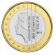 Netherlands 1 euro coin 2011 - © Michail