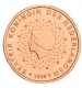 Netherlands 2 Cent Coin 2008 - © Michail