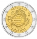 Netherlands 2 Euro Coin - 10 Years of Euro Cash 2012 - © Michail