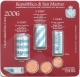 San Marino Euro Coinset Mini Coinset with coin rolls 2006 - © Sonder-KMS