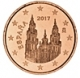 Spain 1 Cent Coin 2017 - © Michail
