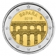 Spain 2 Euro Coin - UNESCO World Heritage Site - Old City of Segovia and its Aqueduct 2016 - © Michail